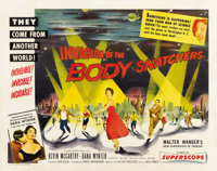"""Invasion of the Body Snatchers (Allied Artists, 1956). Half Sheet (22"""" X 28"""") Style B"""