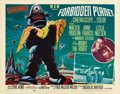 "Movie Posters:Science Fiction, Forbidden Planet (MGM, 1956). Half Sheet (22"" X 28"") Style B...."