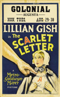 "Movie Posters:Drama, The Scarlet Letter (MGM, 1926). Window Card (14"" X 22"")...."
