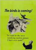 "Movie Posters:Hitchcock, The Birds (Universal, 1963). Canadian Advance One Sheet (27"" X41"")...."