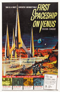 """Movie Posters:Science Fiction, First Spaceship on Venus (Crown International, 1962). One Sheet(27"""" X 41"""")...."""