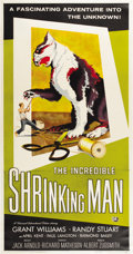 "Movie Posters:Horror, The Incredible Shrinking Man (Universal International, 1957). ThreeSheet (41"" X 81"")...."