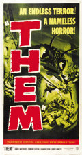 "Movie Posters:Science Fiction, Them! (Warner Brothers, 1954). Three Sheet (41"" X 81"")...."