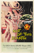 "Movie Posters:Science Fiction, Not of this Earth (Allied Artists, 1957). One Sheet (27"" X 41"")...."