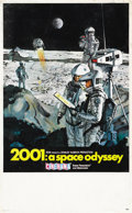 """Movie Posters:Science Fiction, 2001: A Space Odyssey (MGM, 1968). Midget Window Card (8"""" X14"""")...."""