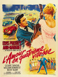 "Movie Posters:Elvis Presley, Viva Las Vegas (MGM, 1964). French Grande (47"" X 63"")...."