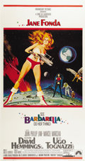 "Movie Posters:Science Fiction, Barbarella (Paramount, 1968). Three Sheet (41"" X 81"")...."