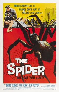 """The Spider (American International, 1958). One Sheet (27"""" X 41"""")"""