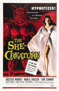 "Movie Posters:Science Fiction, The She-Creature (American International, 1956). One Sheet (27"" X41"")...."