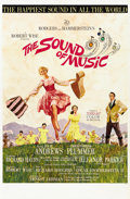 "Movie Posters:Academy Award Winner, The Sound of Music (20th Century Fox, 1965). One Sheet (27"" X 41"")Roadshow style.. ..."
