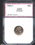 Additional Certified Coins: , 1942/1 10C