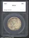 Additional Certified Coins: , 1827 50C