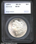 Additional Certified Coins: , 1879-S S$1 REV 1878