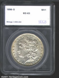 Additional Certified Coins: , 1896-O S$1
