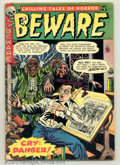 Golden Age (1938-1955):Horror, Beware #11 (Trojan/Prime, 1954). Condition: VG-....