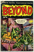 Golden Age (1938-1955):Horror, Beyond #24 (Ace, 1954). Condition: VG+....