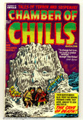 Golden Age (1938-1955):Horror, Chamber of Chills #10 (Harvey, 1952). Condition: FN-....