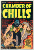Golden Age (1938-1955):Horror, Chamber of Chills #11 (Harvey, 1952). Condition: FN-....