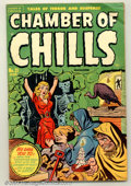 Golden Age (1938-1955):Horror, Chamber of Chills #21 (Harvey, 1951). Actual #1. Condition: FN. ...