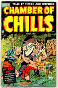 Golden Age (1938-1955):Horror, Chamber of Chills #23 (Harvey, 1951). Actual #3. Condition: FN....