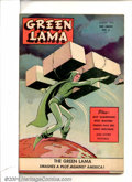 Golden Age (1938-1955):Science Fiction, Green Lama #6 (Spark Publications, 1945). Condition: VG/FN....