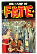 Golden Age (1938-1955):Horror, The Hand of Fate #10 (Ace, 1952). Condition: VG+....