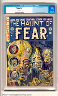 Golden Age (1938-1955):Horror, Haunt of Fear #17 (EC, 1953) CGC VF/NM 9.0, off-white pages.Overstreet 2001 NM 9.4 value = $310....
