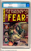 Golden Age (1938-1955):Horror, The Haunt of Fear #26 (EC, 1954) CGC NM- 9.2, off-white to whitepages. Overstreet 2001 NM 9.4 value = $210....
