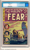 Golden Age (1938-1955):Horror, The Haunt of Fear #28 (EC, 1954) CGC NM- 9.2, off-white to whitepages. Overstreet 2001 NM 9.4 value = $230....