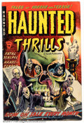 Golden Age (1938-1955):Horror, Haunted Thrills #5 (Farrell, 1953). Condition: VG+....