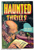 Golden Age (1938-1955):Horror, Haunted Thrills #15 (Farrell, 1954). Condition: GD/VG....