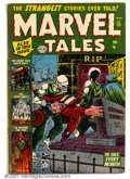 Golden Age (1938-1955):Horror, Marvel Tales (1st Series) #112 (Marvel, 1952). Condition: VG....