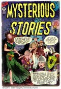 Golden Age (1938-1955):Horror, Mysterious Stories #2 (Premier, 1955). Condition: VG/FN....