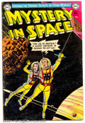 Golden Age (1938-1955):Science Fiction, Mystery in Space #16 (DC, 1953). Condition: VG....