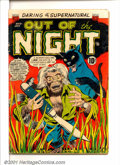Golden Age (1938-1955):Horror, Out of the Night #15 (ACG, 1954). Condition: GD/VG....