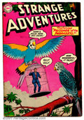 Golden Age (1938-1955):Science Fiction, Strange Adventures #52 (DC, 1955). Condition: FN....