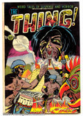 Golden Age (1938-1955):Horror, The Thing! #6 (Capitol, 1953). Condition: GD+. Two interior pagestorn, entire book printed off-register....