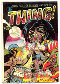 The Thing! #6 (Capitol, 1953). Condition: VG