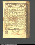 Colonial Notes:Rhode Island, May, 1786, 2s/6d, Rhode Island, RI-293, XF. A couple of old tap...