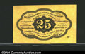 Fractional Currency:First Issue, First Issue 25c, Fr-1281, Choice-Gem CU. A well centered exampl...