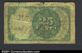 Fractional Currency:Fifth Issue, Fifth Issue 25c, Fr-1309, Good-VG. ...