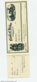 Miscellaneous:Checks, Bank of Idaho, J.T. Morgan & Co. Bankers, Choice CU. ...