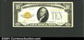 Small Size:Gold Certificates, 1928 $10 Gold Certificate, Fr-2400, VF+. ...