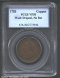 1783 1C Washington & Independence Cent, Draped Bust, No Button VF30 Brown PCGS. ...(PCGS# 676)