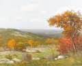 Texas:Early Texas Art - Impressionists, PORFIRIO SALINAS (1910-1973). Untitled Fall Landscape, 1965. Oil oncanvas. 24in. x 30in.. Signed and dated lower left. Po...