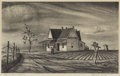 Texas:Early Texas Art - Regionalists, LLOYD GOFF (1908-1982). Texas Farm House, 1939. Lithograph.7in. x 11 1/2in.. Signed and dated lower right. Titled lower...