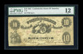 Confederate Notes:1861 Issues, T10 $10 1861. This moderately circulated piece displays good paper quality and most importantly has not been cancelled. Over...