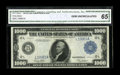Fr. 1133bL $1000 1918 Federal Reserve Note CGA Gem Uncirculated 65. When we first offered this note in May 1993, we desc...