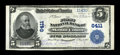 National Bank Notes:Pennsylvania, Mount Union, PA - $5 1902 Plain Back Fr. 598 The First NB Ch. #6411. Just five large examples are known from this Hunti...