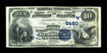 National Bank Notes:Wyoming, Kemmerer, WY - $10 1882 Date Back Fr. 545 The First NB Ch. # (W)5480. ...